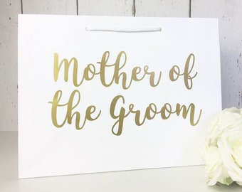 Mother of the Groom Gift • Mother of the Groom Gift Bag • Mother of the Groom Bag• Wedding Gift Bags• Thank You Flower Girl• Bridesmaid Gift