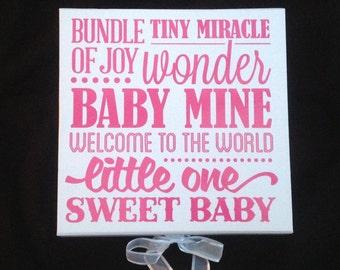 Large Baby Memory Box Keepsake Christening Birth Gift