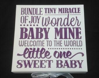 Baby Memory Box | Extra Large Keepsake Box | Baby Shower Gift | Baptism Gift | Baby Keepsake Box | Neutral Keepsake Box | Memory Box