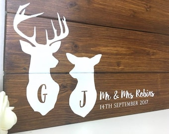 Rustic Guest Board • Guest book board • Wedding Guest Book • Wedding Guestbook • Alternative Guest Book • Wooden Guest Book • Woodland Theme