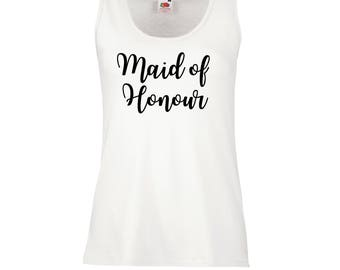 Bridesmaid top • Hen Party Tops • Hen Party Vests • Hen Party Shirts • Hen Do Tops • Bride Shirts • Bride Vests • Bachelorette Party •Hen Do