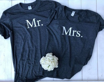 Honeymoon Shirts • Mr Mrs Shirts • Couples T Shirt • Couples Shirt • Newlywed Shirts •Honeymoon Tops •Honeymoon Clothes •Mrs Shirt •Mr Shirt