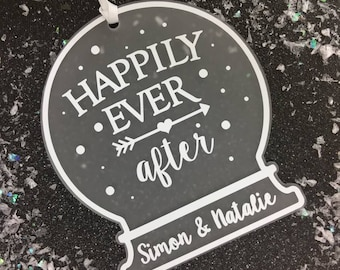 Our First Christmas As • Happily Ever After Sign