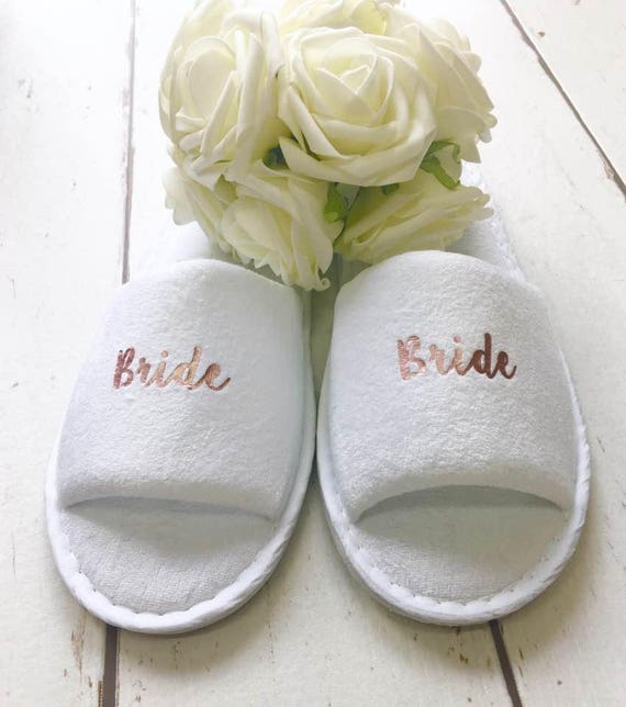 Bride Slippers Hen Party Bridal Party Slippers Slippers
