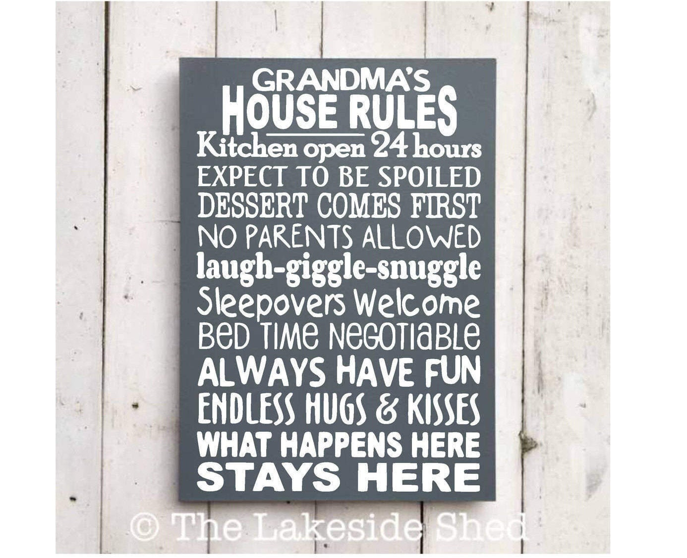 248b43df0 Grandma s House Rules Grandma Sign Grandma Plaque