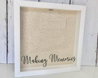 Making Memories | Ticket Shadow Box | Memory Box | Shadow Box Ticket | Ticket Stub Box | Cinema Stub |Home Decor|Drop Box |Memory Shadow Box