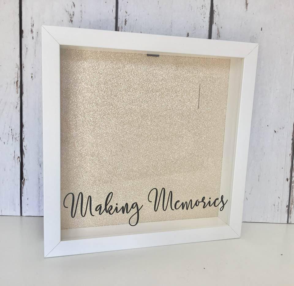Making Memories • Ticket Shadow Box • Memory Box • Shadow Box Ticket ...