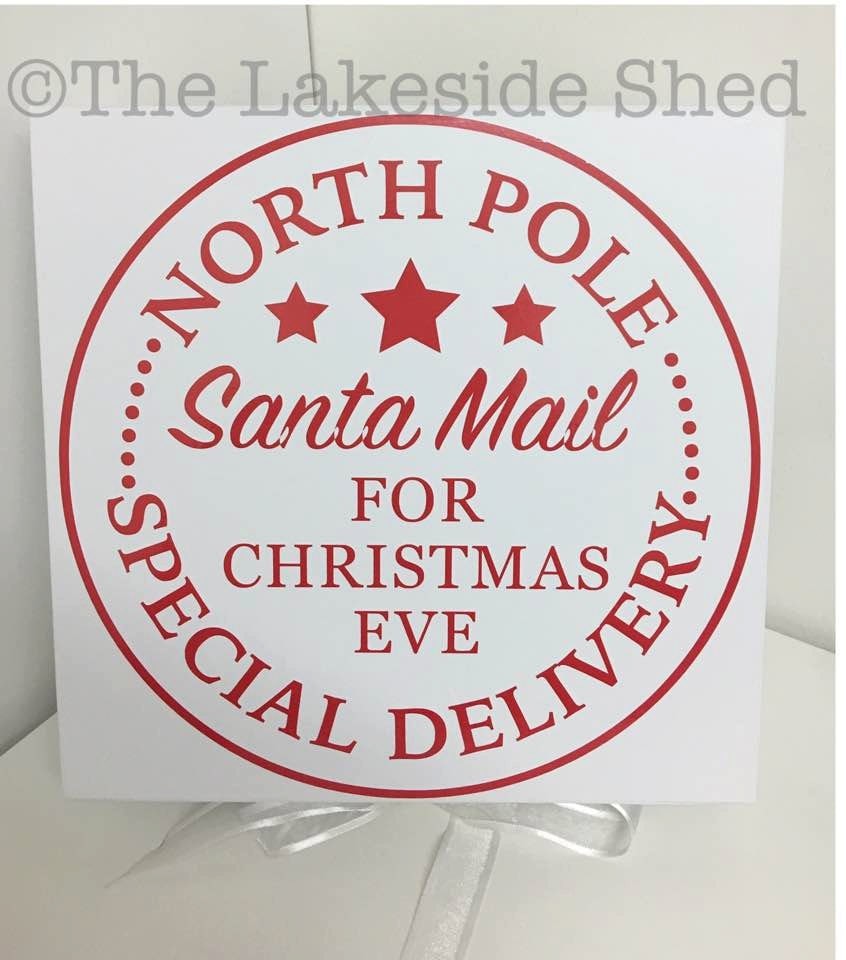 Christmas Eve Box North Pole Santa Mail Special Delivery | Etsy