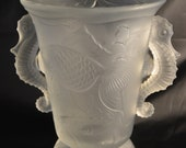 Barolac Bohemian Satin Glass Vase