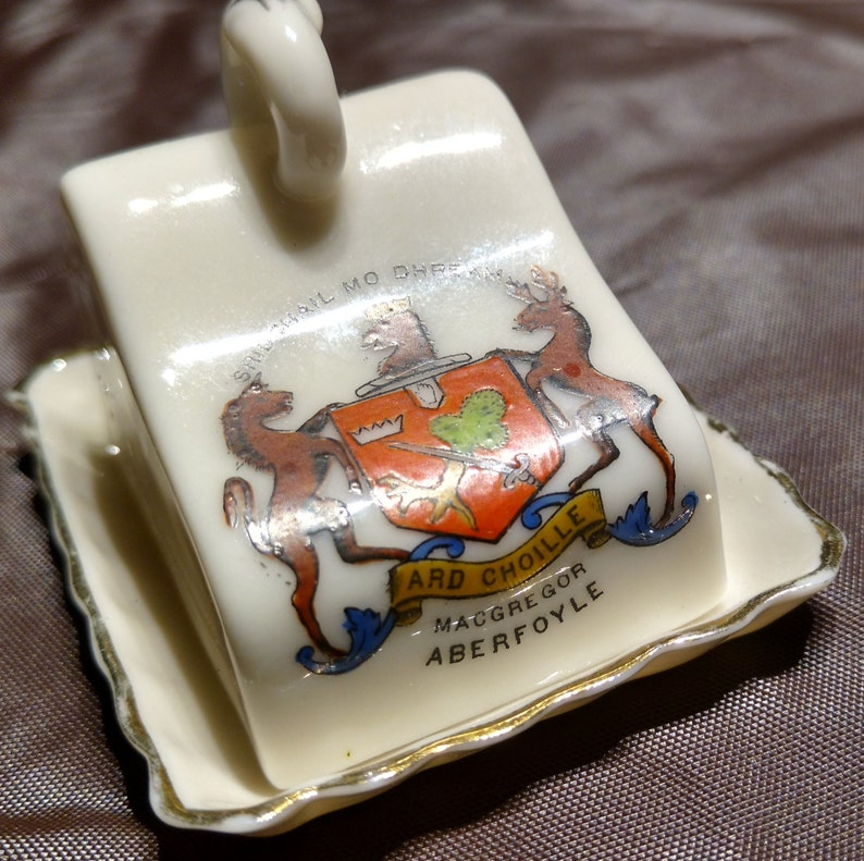 1930s Collection of Motto Ware Miniatures Including a Rare Tank
