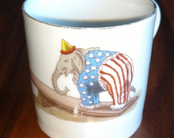 Free Shipping:  Antique GOP/Republican Coffee Mug
