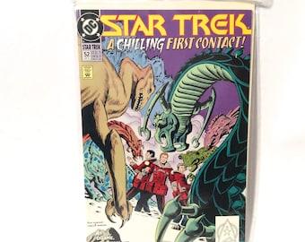 Vintage 1993 Star Trek DC Comic Book Number 52/Sealed and Boarded