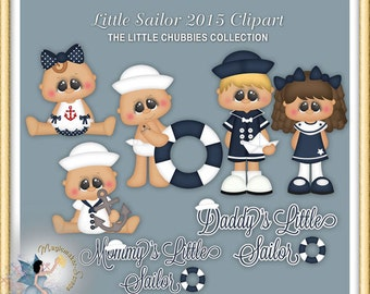 Baby Clipart,  Nautical, Toddler, My Little Sailor 2015