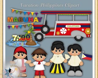 Vacation Philippines Clipart