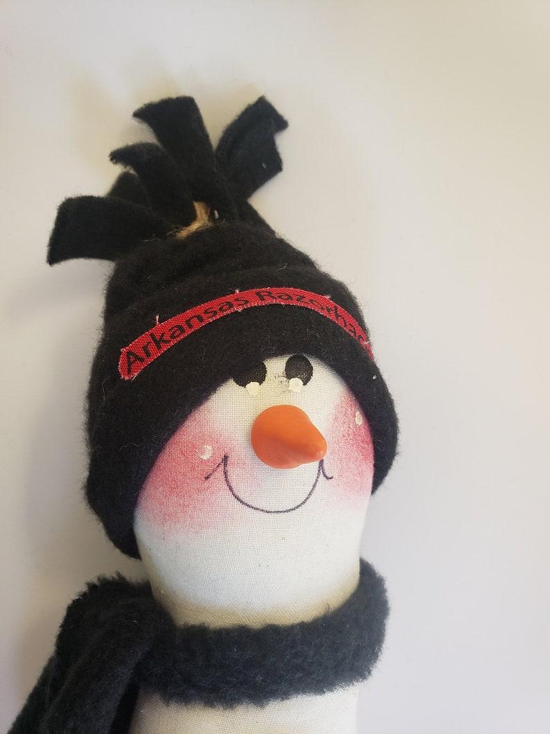 Winter decoration College team snowmen Gift for him