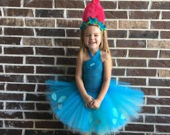 Poppy Troll Costume