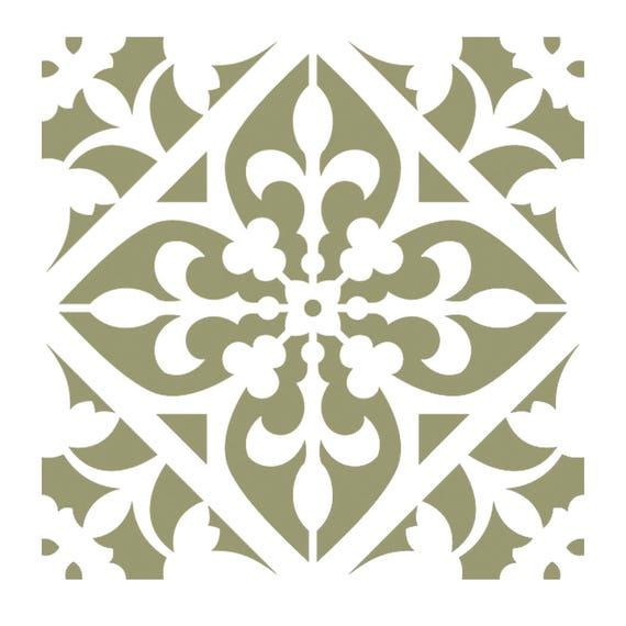 "Damask Wall Stencil Pattern Home Decor Art New Reusable size 13/"" x 11/"""