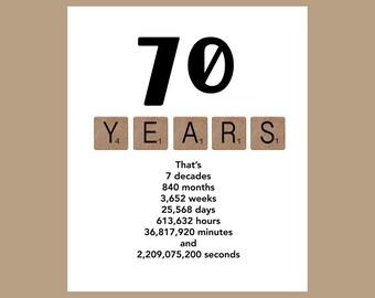 Birthday cards etsy ca 70th birthday card milestone birthday card the big 70 70 birthday 1948 birthday card m4hsunfo