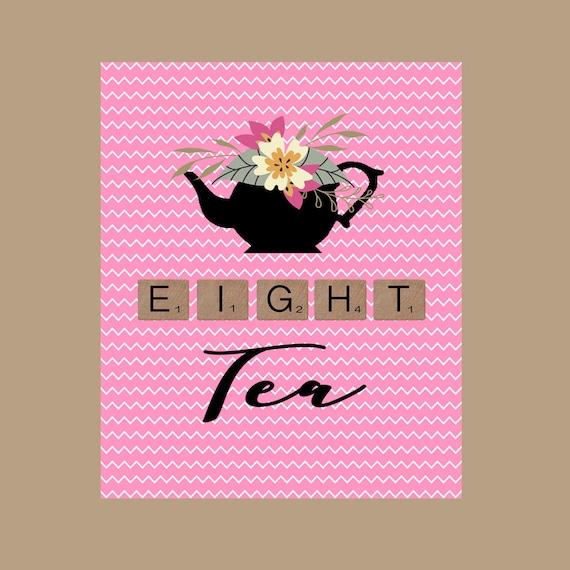 80th Birthday Card 1938 Birthday Tea Birthday Card Pun Etsy