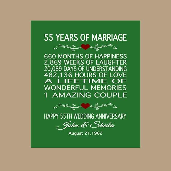 55th Anniversary Gift 1963 Anniversary Gift 55 Years Etsy
