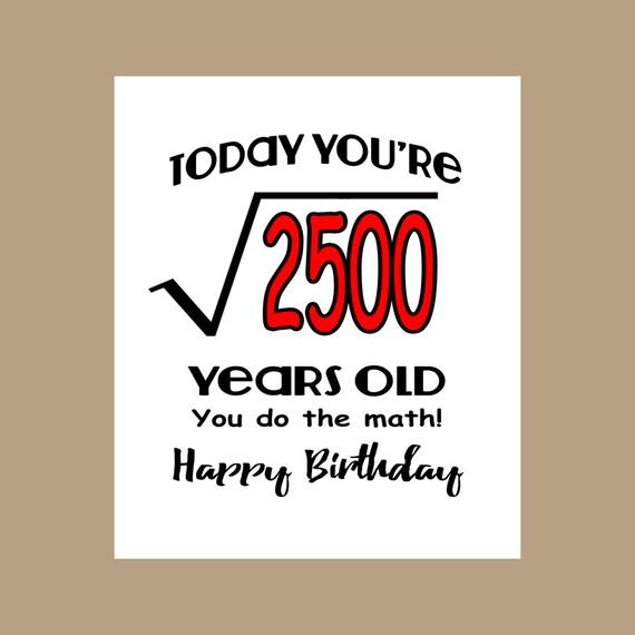 50th Birthday Card Geek Birthday Card 1967 Birthday Nerd Etsy