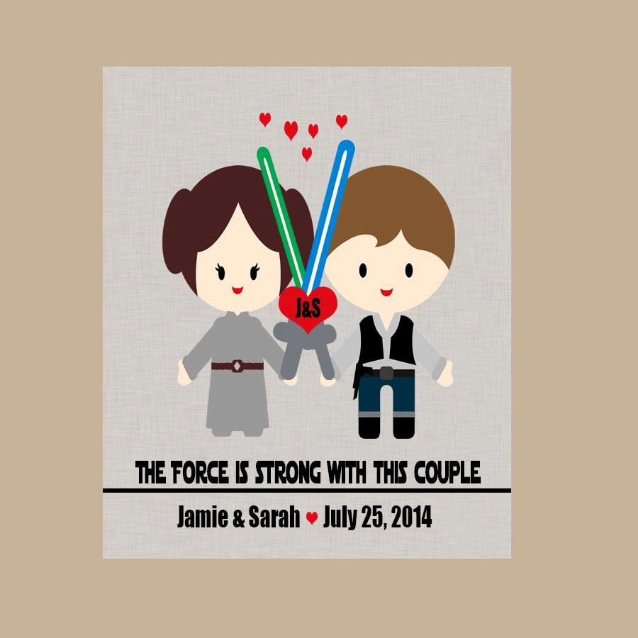 Star Wars Wedding Gift Star Wars Anniversary Gift  3511b339c