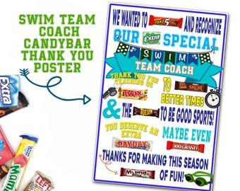 Poster With Candy Etsy