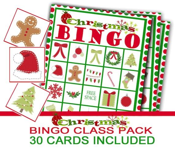 Christmas Bingo.Christmas Party Bingo Game Class Christmas Party Class Party Game Christmas Bingo Christmas Preschool Game Holiday Party Game
