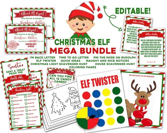 Elf Idea Easy Elf Ideas Printable Elf Ideas Quick Elf