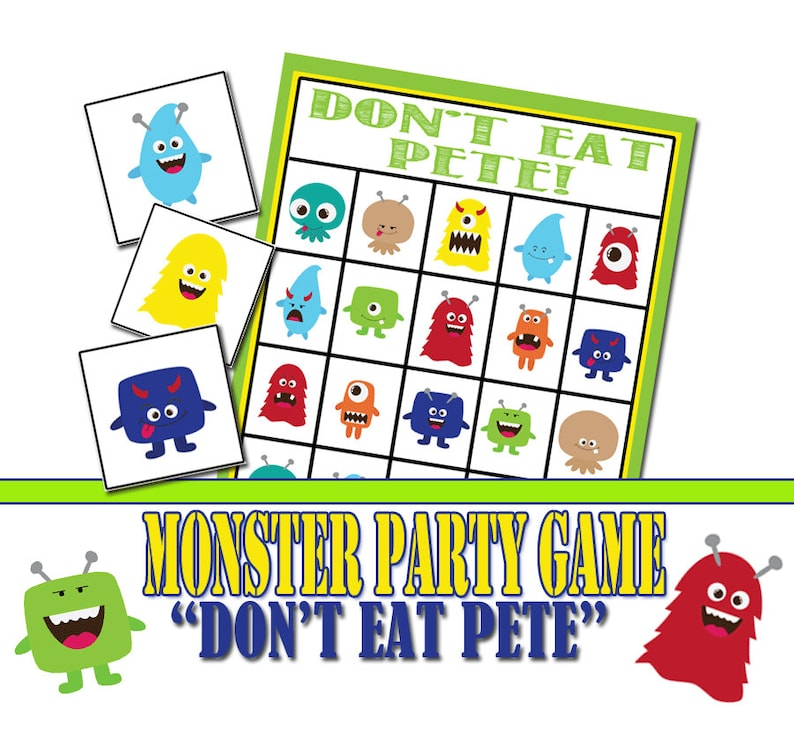 picture relating to Don't Eat Pete Printable called Monster Birthday Social gathering Activity, Dont Consume Pete, Neighborhood Sport, Monster Birthday, Monster Occasion Match, Preschool Recreation, Monster Printable Match