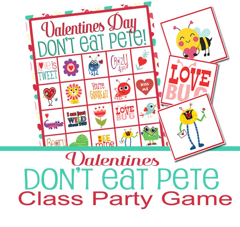 photograph regarding Don T Eat Pete Printable named Valentines Celebration Sport, Dont Take in Pete, Local community Video game, Valentines Printable Video game, Valentine Cl Social gathering, Valentine Video game, Preschool Recreation, Very simple