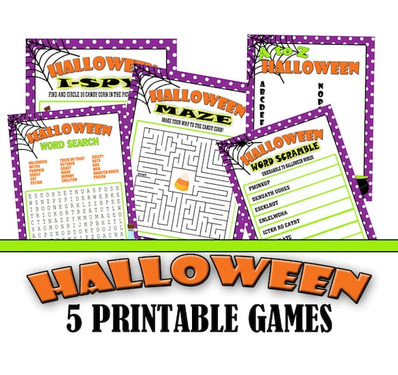 photo relating to Halloween Printable Games named Halloween Printable Game titles, Cl Halloween Get together, Cl Bash Online games, Low cost 5 Pack, Maze, I-spy, Phrase Scramble, Term Glimpse, A toward Z