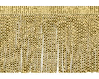 5 yards Gold Color Bullion fringe trim  4 inch