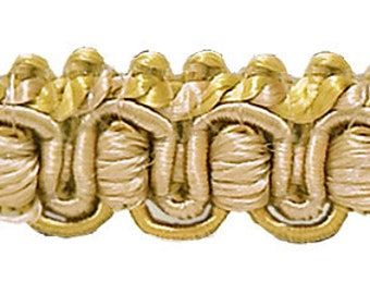 Gold Wine Green 1 Imperial II/Gimp Braid Style# 0125IG Color: HOLIDAY SPLENDOR Sold by The Yard 3752