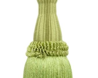 Style# KTC055 Color Decorative 5 1//2 Inch Key Tassel Celadon L26