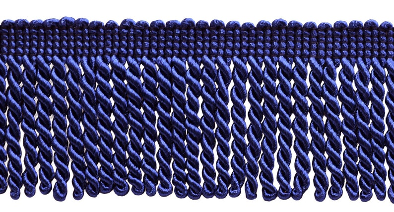 049 D/ÉCOPRO 10 Yard Value Pack of Grey 2.5 Inch Bullion Fringe Trim 30 Ft // 9 Meters Style# EF25 Color