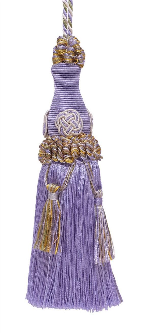 4975 Rustic Gold Antique Gold Imperial II Collecion Style# IKTJ Color D/ÉCOPRO Decorative 5 Key Tassel