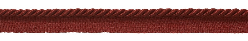 21976 Style# 0316S Color: Cherry Red -E13 16 Yard Value Pack of 316 Basic Trim Lip Cord .5cm