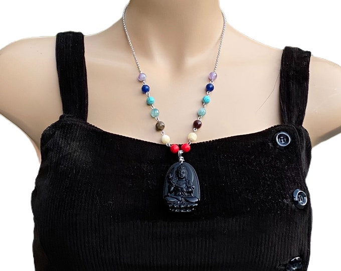Buddha Chakra Stones Necklace