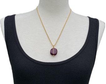Brazilian Gemstones Pendant Neckleces