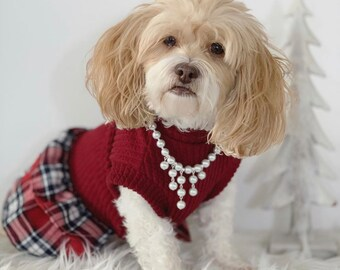 Pet jewelry Pearls Necklace