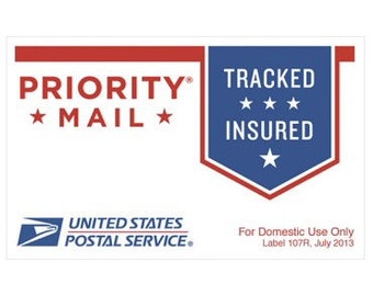Priority Mail, 1-3 days shipping, rush delivery, usps mail