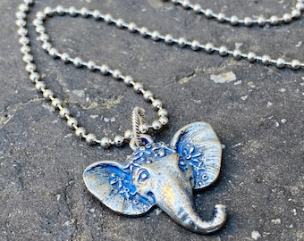 Good Vibes Elephant Necklace