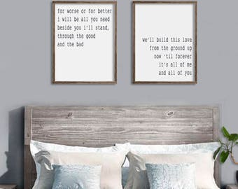 bedroom wall decor etsy rh etsy com wall decor for bedroom walmart wall decor for bedroom target