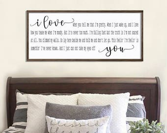 Bedroom Wall Decor Framed Signs I Wish I Met You Sooner So Etsy