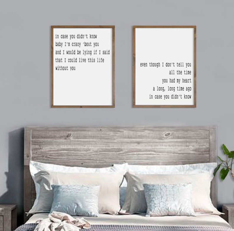 Bedroom Wall Decor In Case You Didn T Know Gift For Etsy