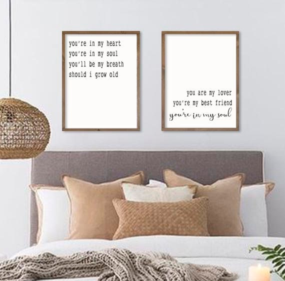 bedroom wall decor | master bedroom signs | you\'re in my heart | wedding  song lyric art | Rod Stewart | couples bedroom decor | 21"|570|562|?|en|2|7dee7f2d45cfb6b35dd1ed09036d5b97|False|UNLIKELY|0.30422359704971313
