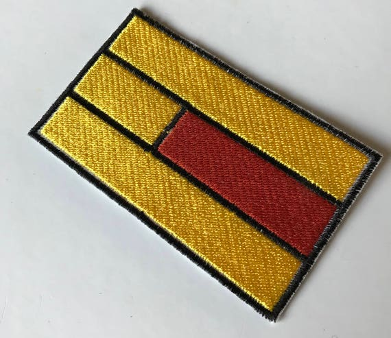 "Flag of Liechtenstein Iron On Patch 2 1//2/"" x 1 1//2/"" Free Shipping Envelope Mail"