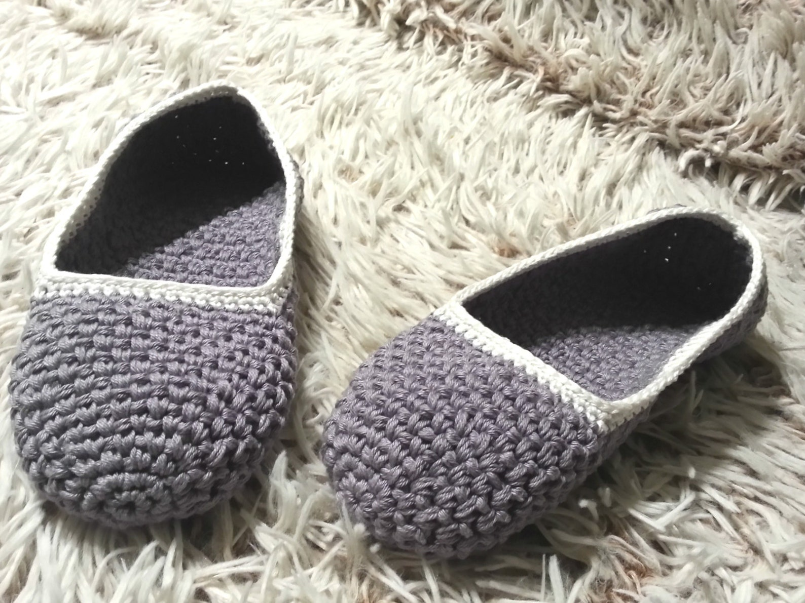 crochet slippers, women slippers, cotton slippers, gift for women, healthy home shoes, non-slip slippers, ballet flats, handmade