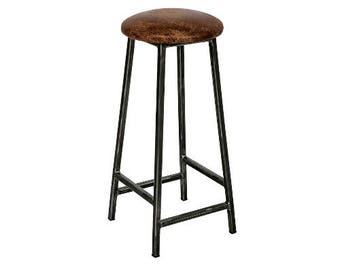 Industrial Bar Stool Etsy